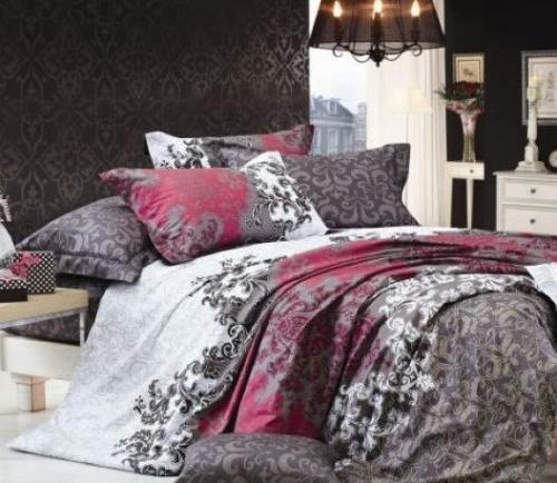 Полуторный комплект постельного белья Сатин «Танго»