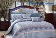 Полуторный комплект постельного белья Сатин «Франсуаза»