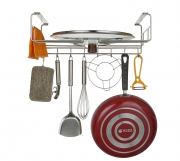 Держатель для кухонных принадлежностей нерж.сталь 427x290x150