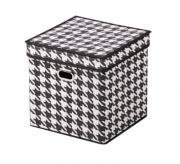 """Короб для хранения с крышкой """"Scotland"""", 27x27x27 см"""