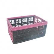 Складной ящик хозяйственный  32л розовый 0224.2