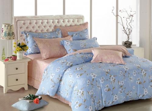 Семейный комплект постельного белья «АМЕДЕЯ»