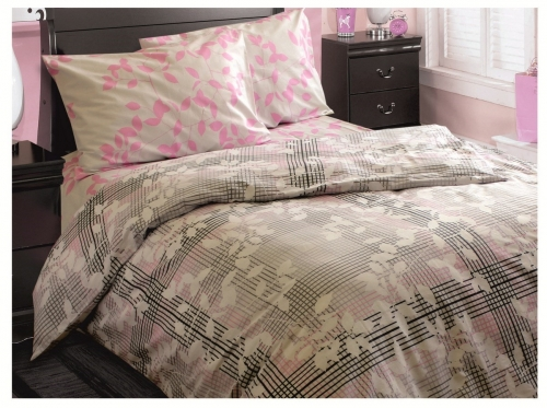 Семейный комплект постельного белья Бязь «Ода»