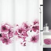 Шторка для ванной текстильная Spirella AMANDA