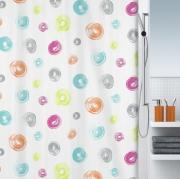 Шторка для ванной текстильная Spirella BRUSH