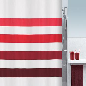 Шторка для ванной текстильная Spirella FOUR