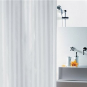 Шторка для ванной текстильная Spirella MAGI