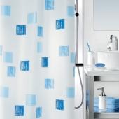 Шторка для ванной текстильная Spirella MILANO