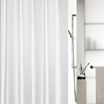 Шторка для ванной текстильная Spirella SHINE