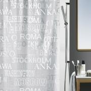 Шторка для ванной виниловая Spirella CITIES