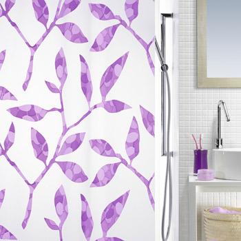 Шторка для ванной виниловая Spirella CLEA