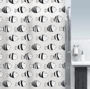 Шторка для ванной виниловая Spirella FOFY