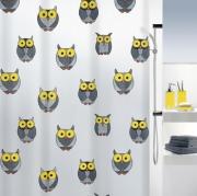 Шторка для ванной виниловая Spirella OWL