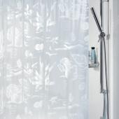 Шторка для ванной виниловая Spirella RIFF