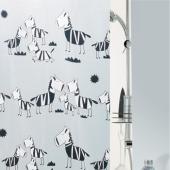 Шторка для ванной виниловая Spirella ZEBI