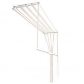 Сушилка потолочная для белья 0.90м 5 веревок 92135