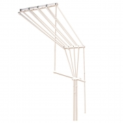 Сушилка потолочная для белья 1.50м 5 веревок 92106
