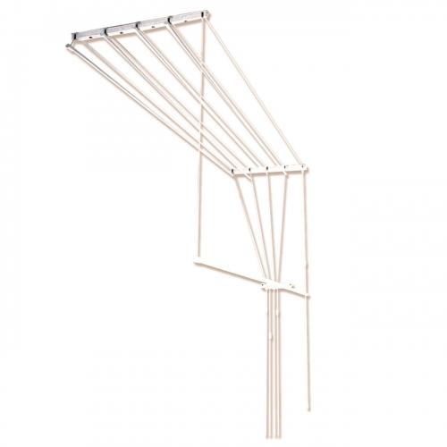 Сушилка потолочная для белья 1.30м 5 веревок 92104
