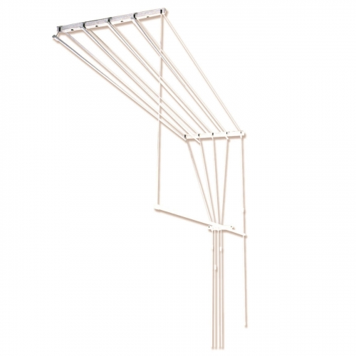 Сушилка потолочная для белья 1.10м 5 веревок 92102