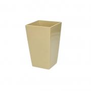 Горшок для цветов URBI 125мм квадратный Капучино 70820-7502