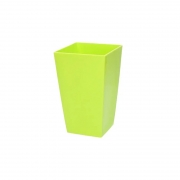Горшок для цветов URBI 125мм квадратный Оливковый 70820-370