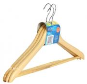 Вешалка для одежды, 3шт (дерево)