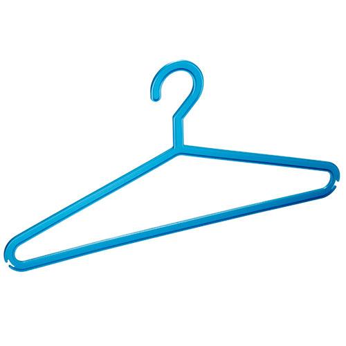 Вешалка для одежды для конфекции, 10шт (экономик)