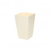 Горшок для цветов URBI 125мм квадратный Крем 70820-728