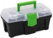 Ящик для инструмента GREENBOX черный №12G