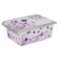 Ящик для хранения  Puple Romance 10л 2712