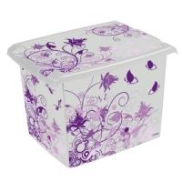 Ящик для хранения  Puple Romance 20л 2812