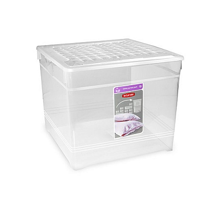 Ящик для хранения 33л TEXTILE BOX 3000