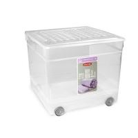 Ящик для хранения 33л TEXTILE BOX на колесах 3001