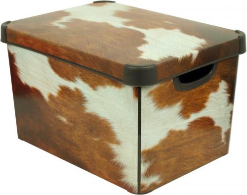 Ящик для хранения 23л Deco`s  COW