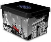 Ящик для хранения 6л Deco`s CITY PARIS