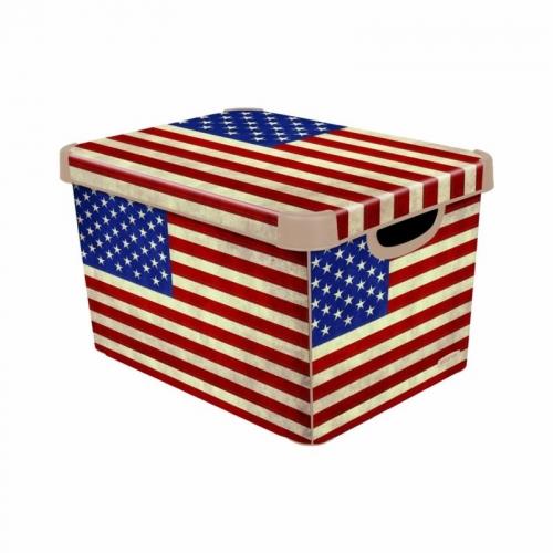 Ящик для хранения 6л Deco`s USA flag