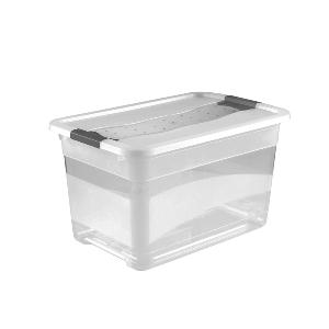 Ящик для хранения Crystal-box 52л с крышкой купить по лучшей цене в Украине  – Comoda d0e4baff8a5