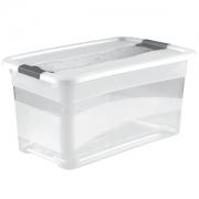 Ящик для хранения Crystal-box 83л с крышкой