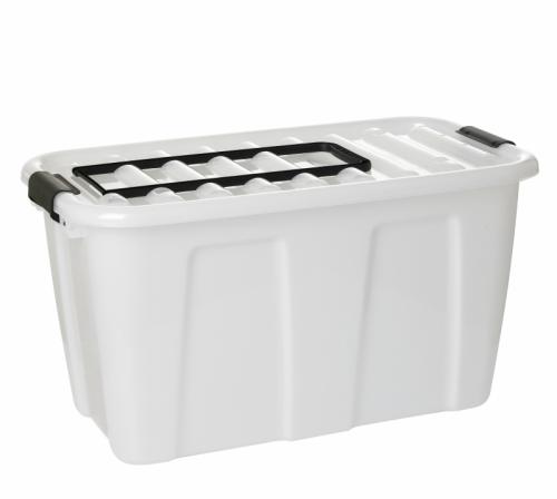 Ящик для хранения HOME BOX  86л на колес.с ручкой