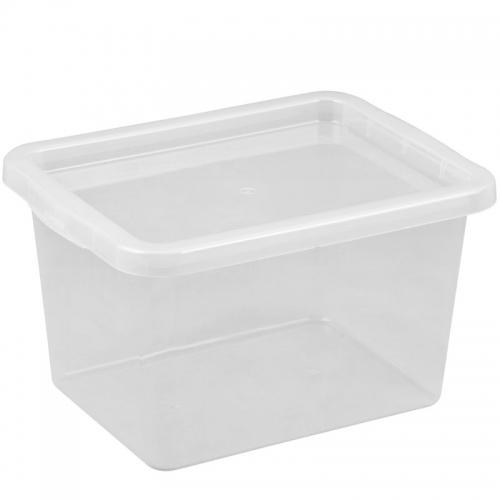 Ящик для хранения с крышкой 13л BASIC