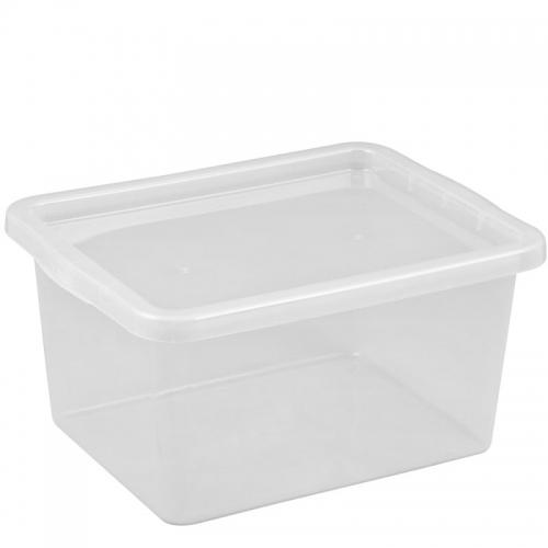 Ящик для хранения с крышкой 18л BASIC