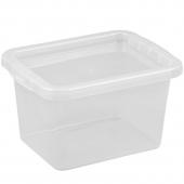 Ящик для хранения с крышкой 8л BASIC