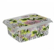 Ящик для хранения SpringLeaves10л с крышкой
