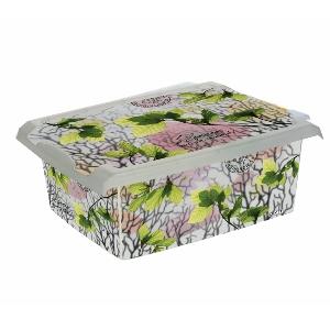 Ящик для хранения SpringLeaves10л с крышкой 2720