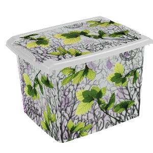 Ящик для хранения SpringLeaves20л с крышкой купить по лучшей цене в ... 36d4cc79de7
