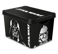 Ящик для зберігання 23л Deco`s Star Wars