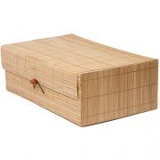 Ящик бамбуковый коричневый AS-10