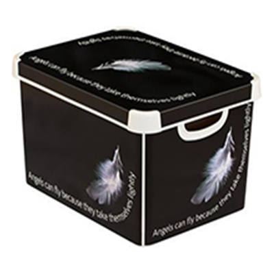 Ящик для хранения 23л Deco`s  ANGEL