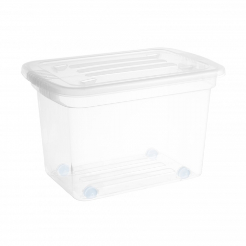 Ящик для хранения 55л на колесиках