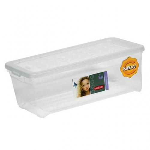 Ящик для хранения 1,8л TEXTILE BOX 3006